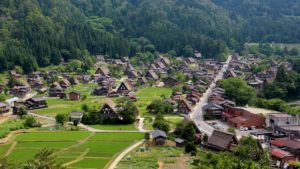 GASSHO-ZUKURI FARMHOUSES, GOKAYAMA AND SHIRAKAWA