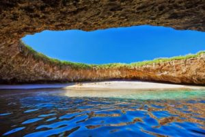 THE HIDDEN BEACH OF THE MARIETA ISLANDS, MEXICO