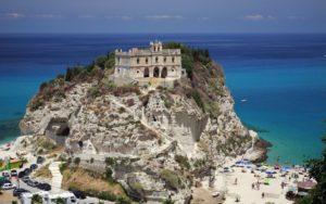 SANTA MARIA DELL'ISOLA MONASTERY IN TROPEA, ITALY
