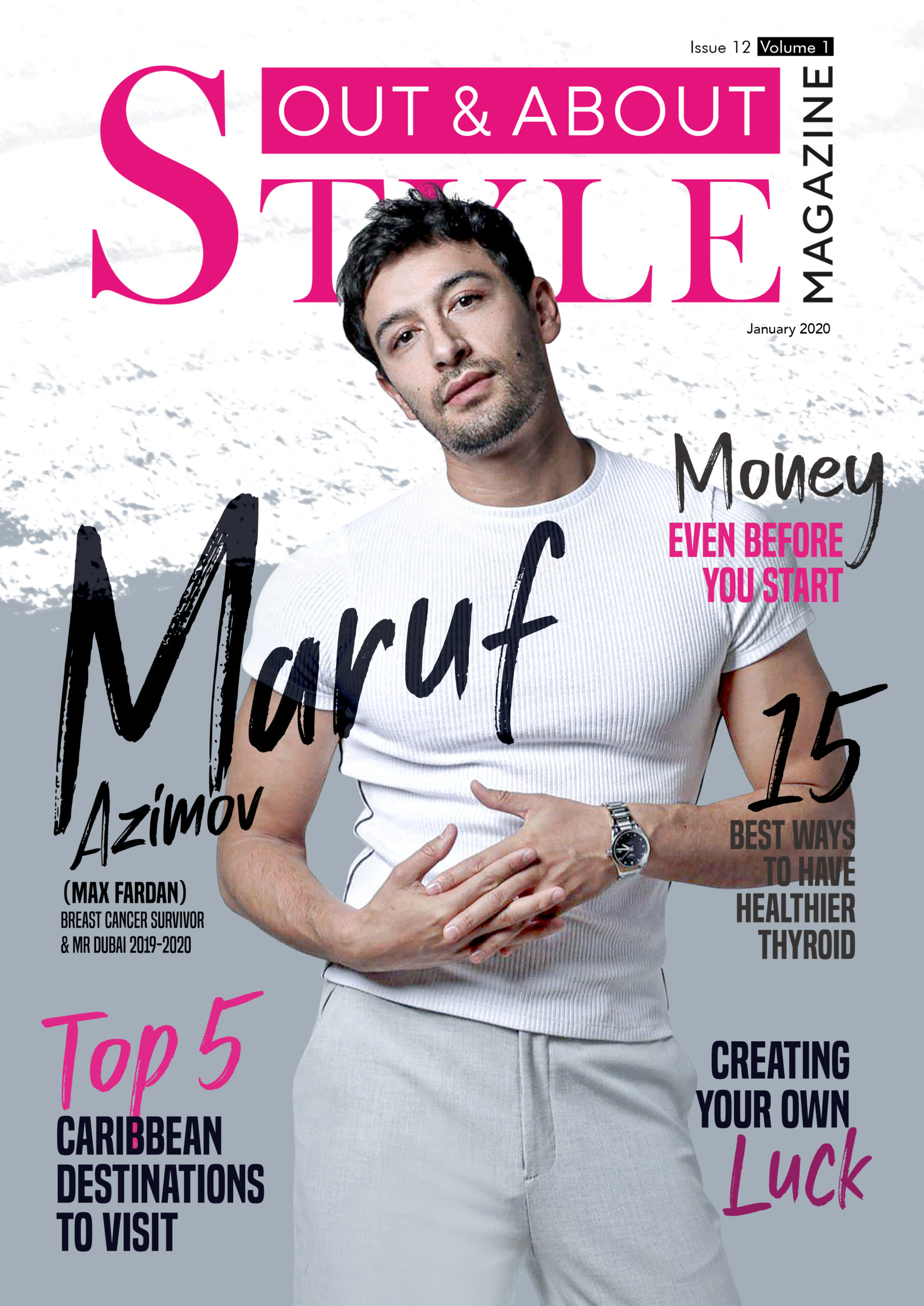 Out and About STYLE Mag Issue 12 Vol. 1 cover image