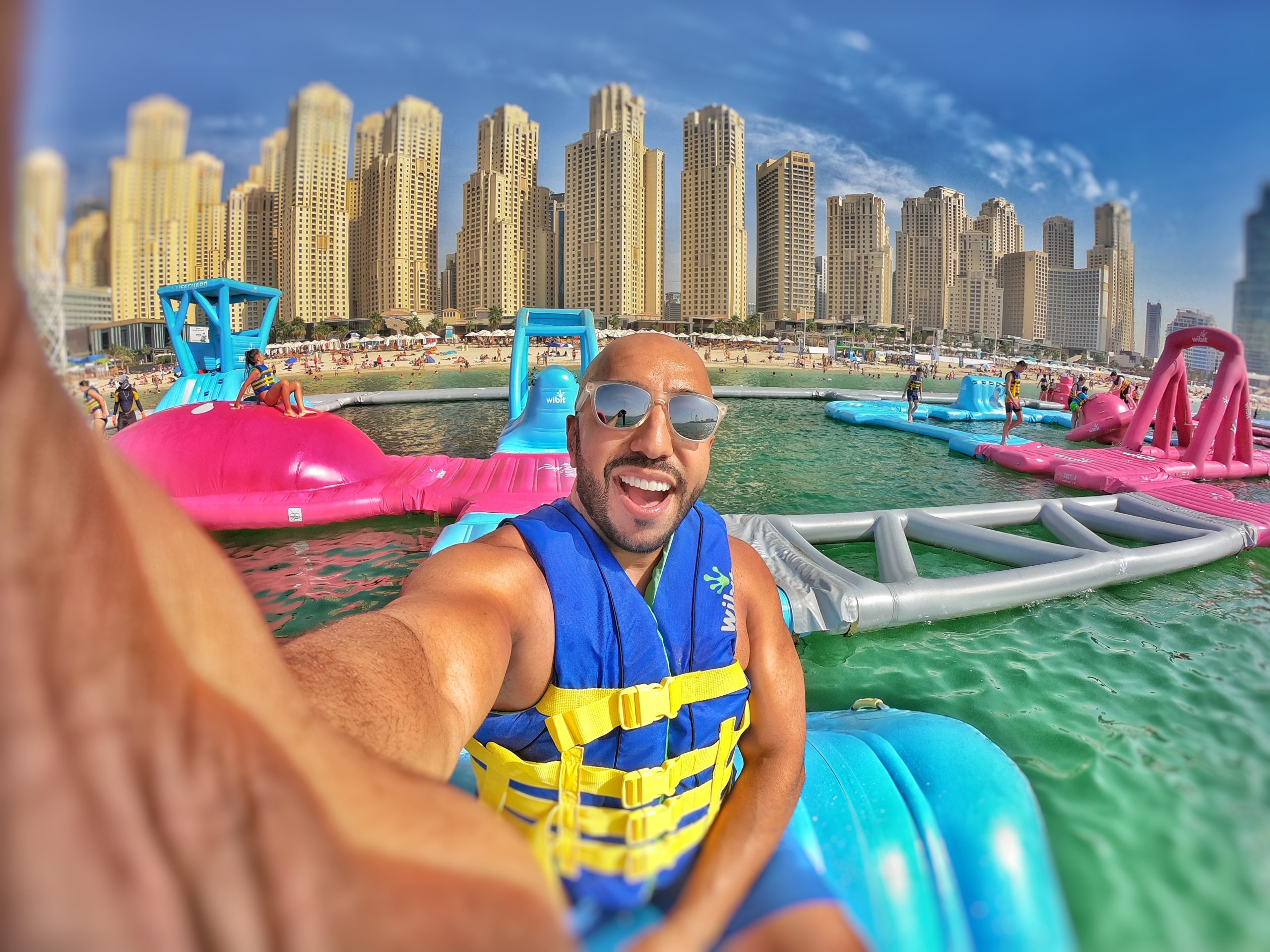 Ahmed Ben Chaibah, CEO of Aqua Fun
