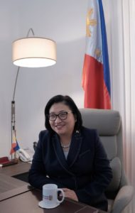 Hjayceelyn Aurora Quintana Philippine Ambassador to the UAE