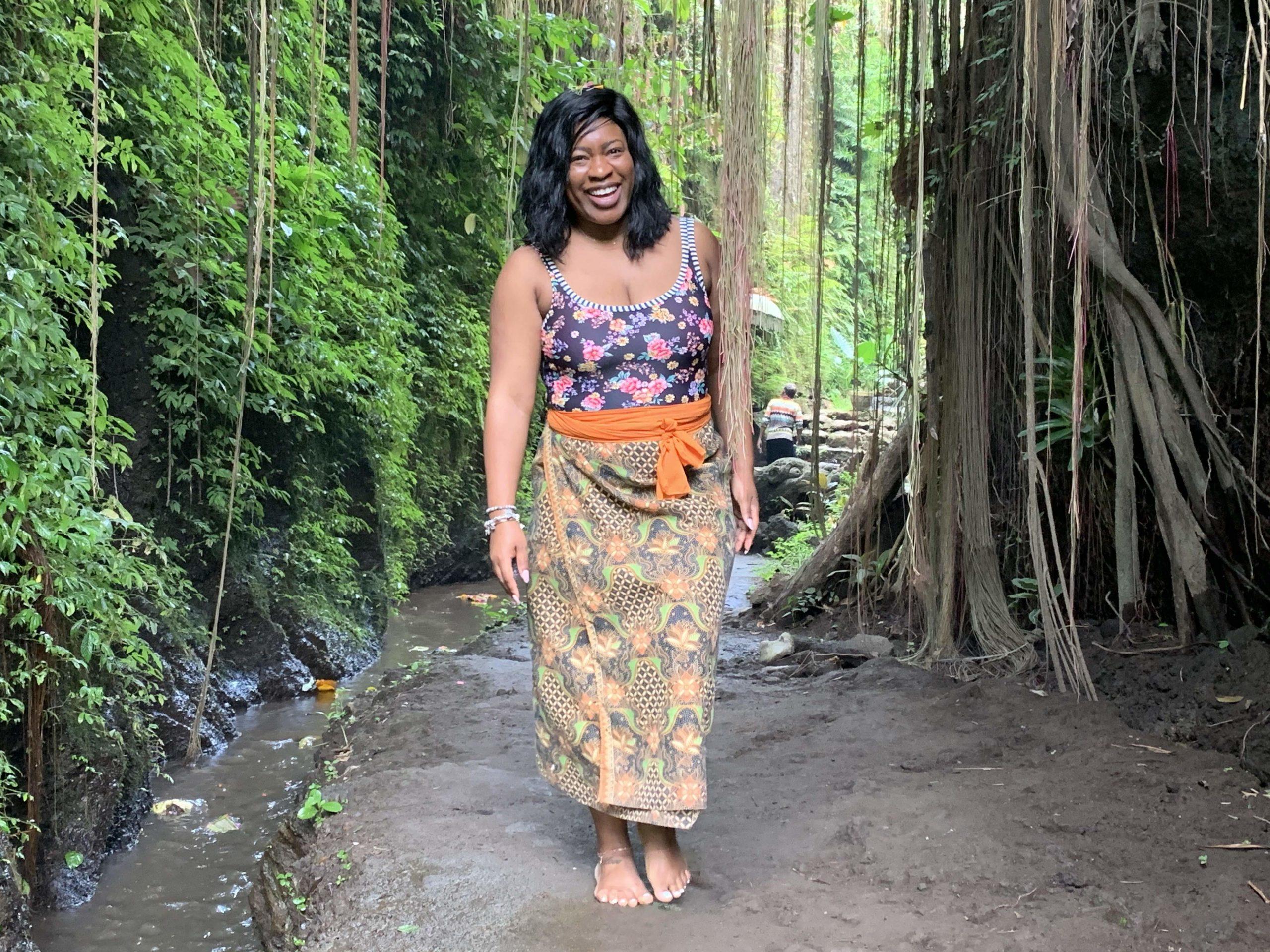 Bali Waterfall walk