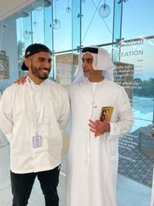 Khaled Alsaadi, Emirati Chef and Co-founder of Fae Cafe