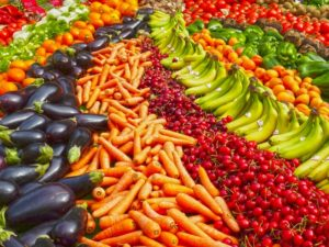 man-made fruits and vegetables