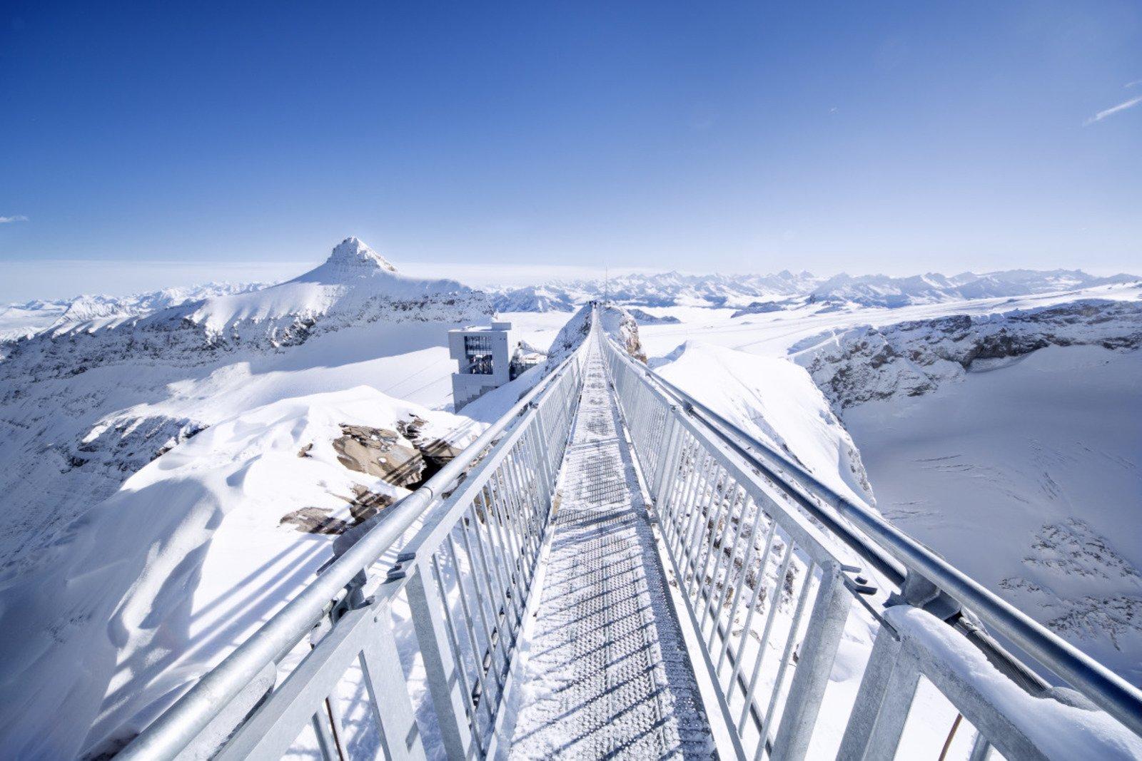 Peak Walk at Glacier 3000 Geneva