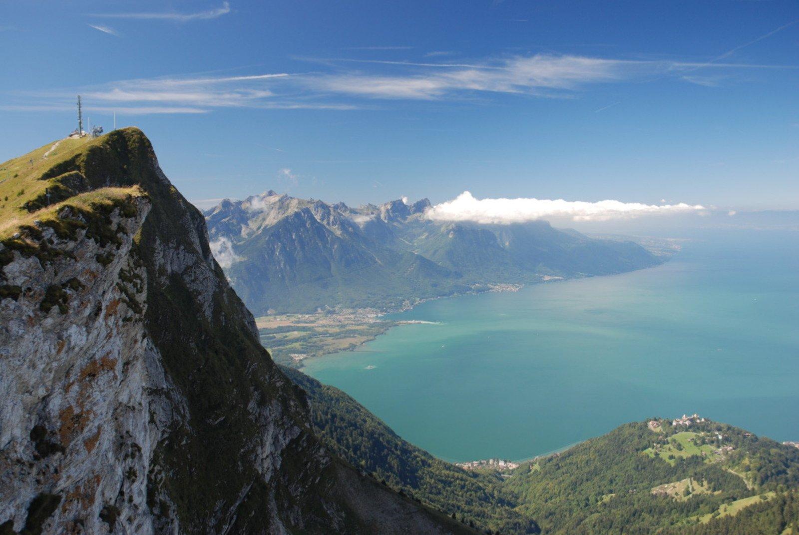 Rochers de Naye Lake Geneva