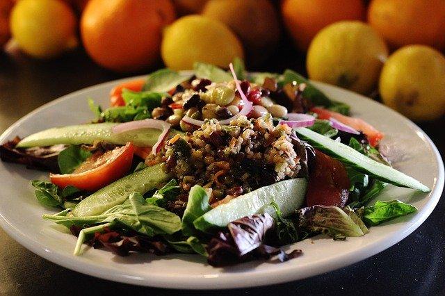 quinoa leafy vegetarian