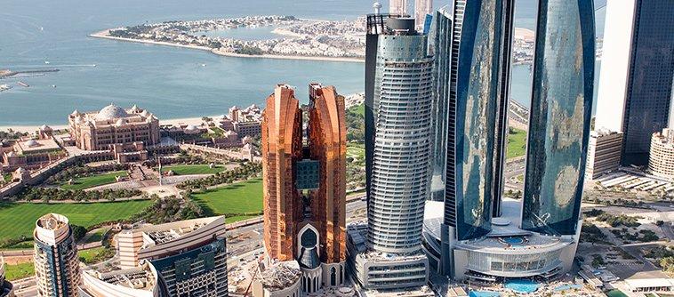 Entering Abu Dhabi