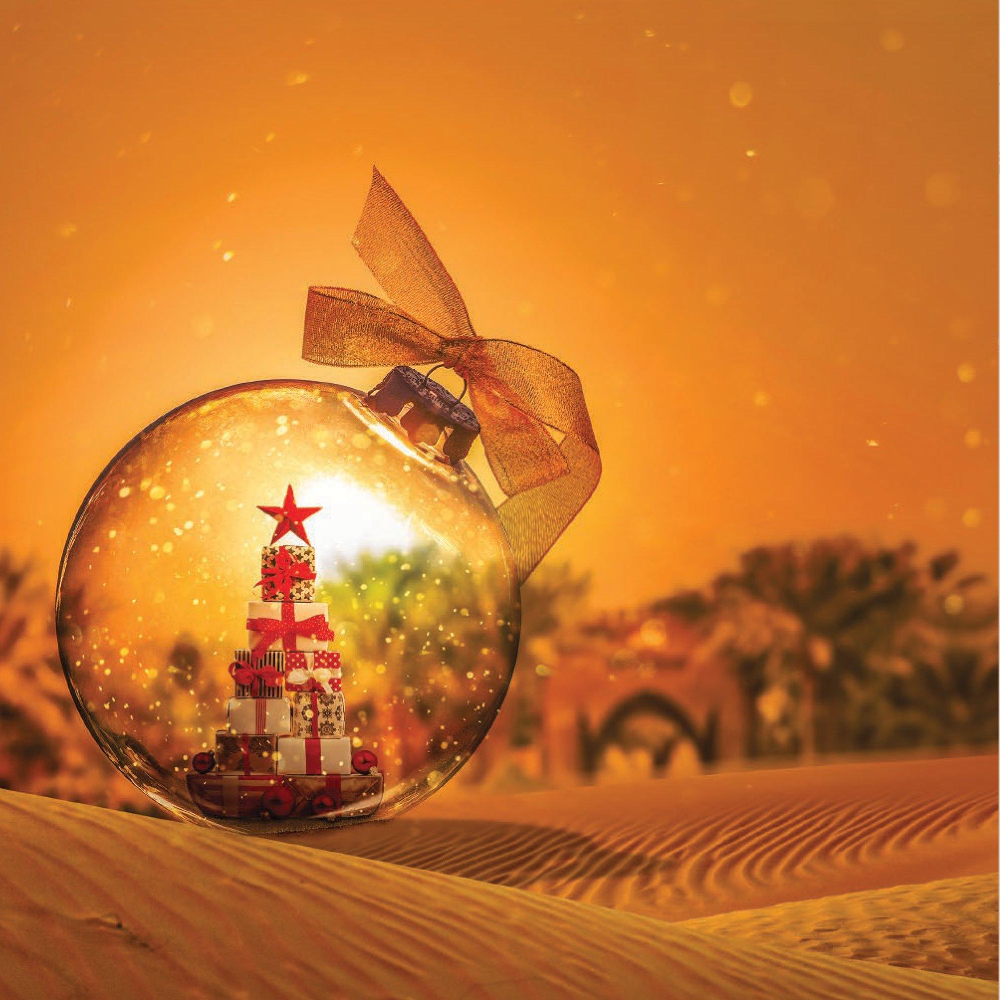 Experience A Festive Fairytale With Bab Al Shams Desert Resort