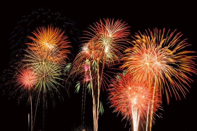 Abu Dhabi Fireworks