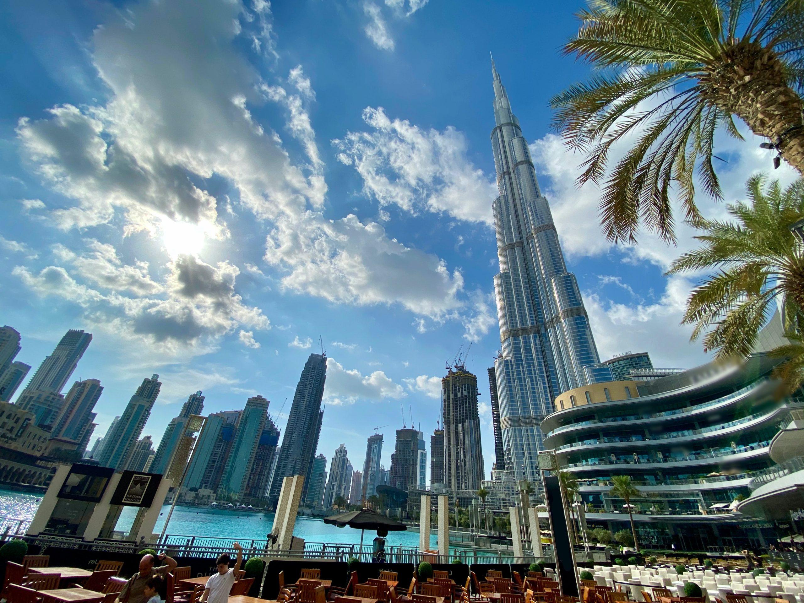 organising events in Dubai
